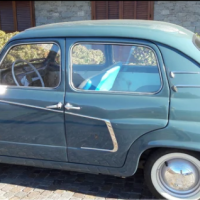 The variant four: 1959 Fiat 600 Lucciola by Francis Lombardi