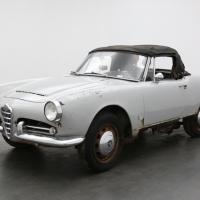 Two faces: 1965 Alfa Romeo Giulia Spider Veloce