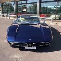 Stainless blue: 1972 Maserati Bora 4.7