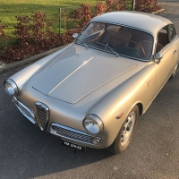 Golden hour: 1962 Alfa Romeo Giulietta Sprint Veloce