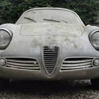 Dust and mystery: 1960 Alfa Romeo Giulietta SZ