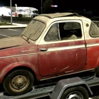The other side: 1962 NSU/Fiat  500 Coupé by Weinsberg