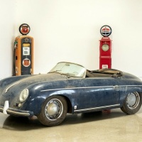 Dusty but not rusty: 1956 Porsche 356 Speedster