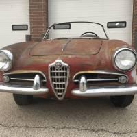 Good start: 1958 Alfa Romeo Giulietta Spider Veloce