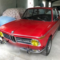 Verona red: 1970 BMW 2002 Ti
