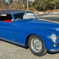 Blue blood: 1948 Alfa Romeo 6C 2500 Sport Cabriolet by Pininfarina