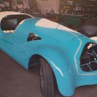 Blue Barchetta: 1951 Fiat 1100E Sport
