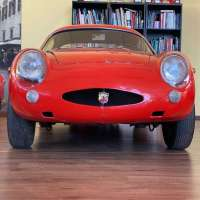 Red racer: 1960 Abarth 1000 Record Monza by Zagato
