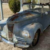 From VI to L.A: 1949 Fiat 1100B Cabriolet