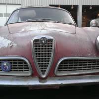 Red over white: 1959 Alfa Romeo Giulietta Sprint