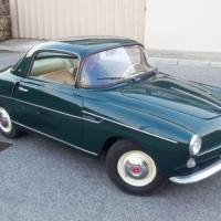 Cute green: 1956 Fiat 600 Coupé by Viotti