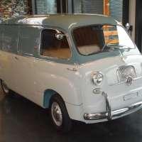 Italian minivan: 1959 Fiat 600 Multipla by OM