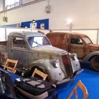 Two trucks: 1952 Lancia Ardea 800 van and pickup