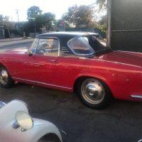 Top Hardtop: 1962 Fiat 1500S O.S.C.A. Cabriolet
