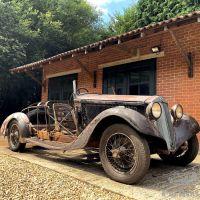 Exposed bones: 1934 Lancia Artena Series III 228C
