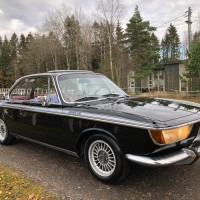 Northern black: 1967 BMW 2000 CS