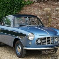 Blue on blue: 1958 Moretti 750 Tour Du Monde